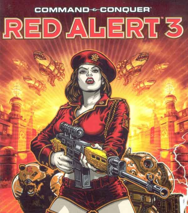 Command and Conquer Red Alert 3 Box Art