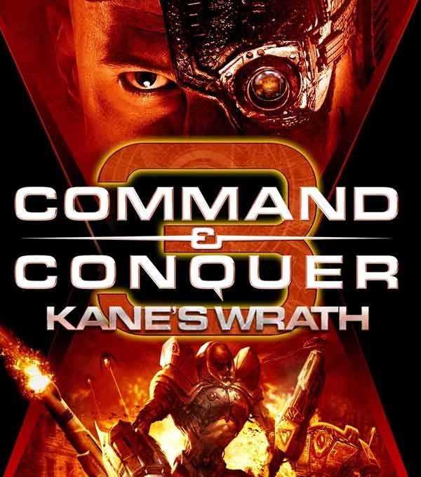Command and Conquer 3 Kane's Wrath Box Art