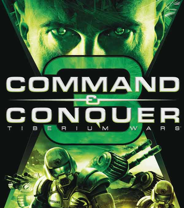 Command and Conquer Red Alert 3 Tiberium Wars Box Art