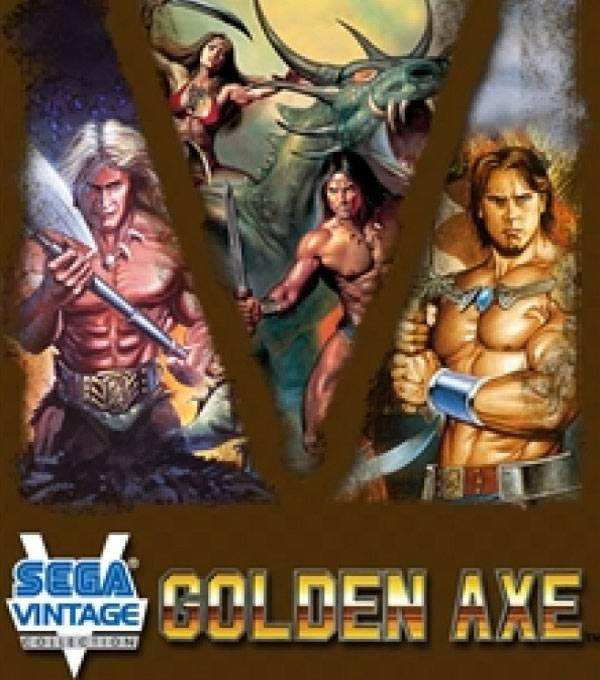Golden Axe Box Art