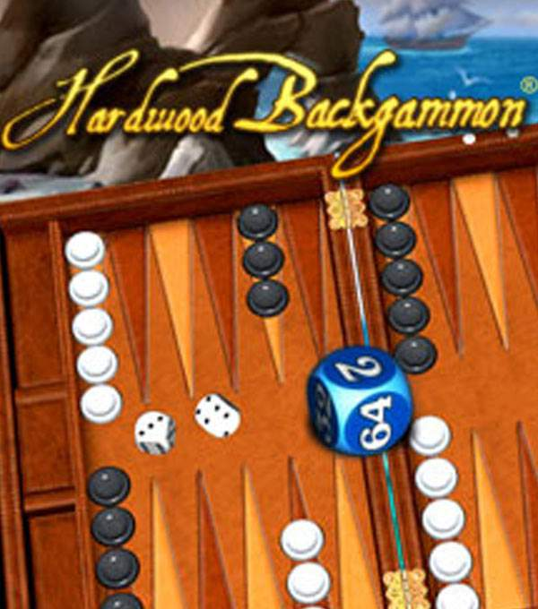 Hardwood Backgammon Box Art