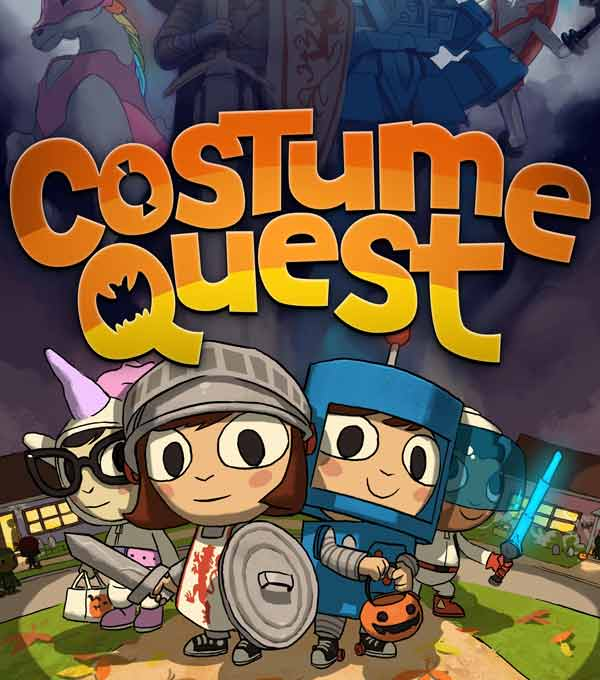 Costume Quest Box Art