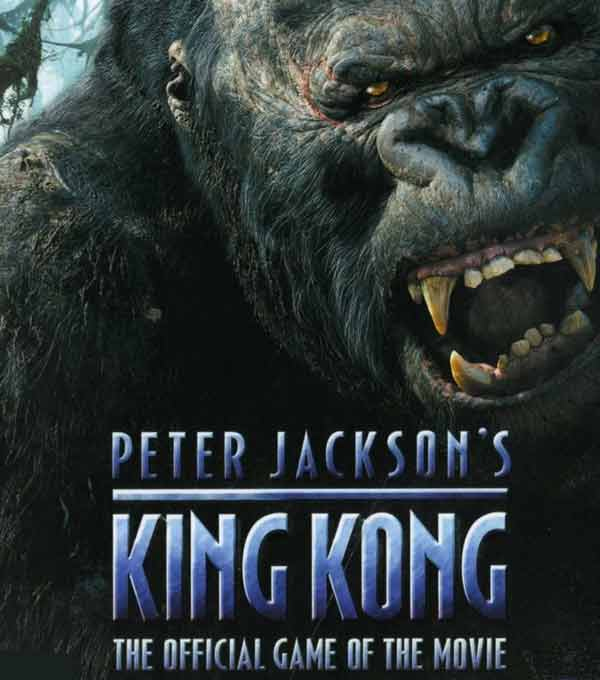 Peter Jackson's King Kong: The Official Game of the Movie Box Art