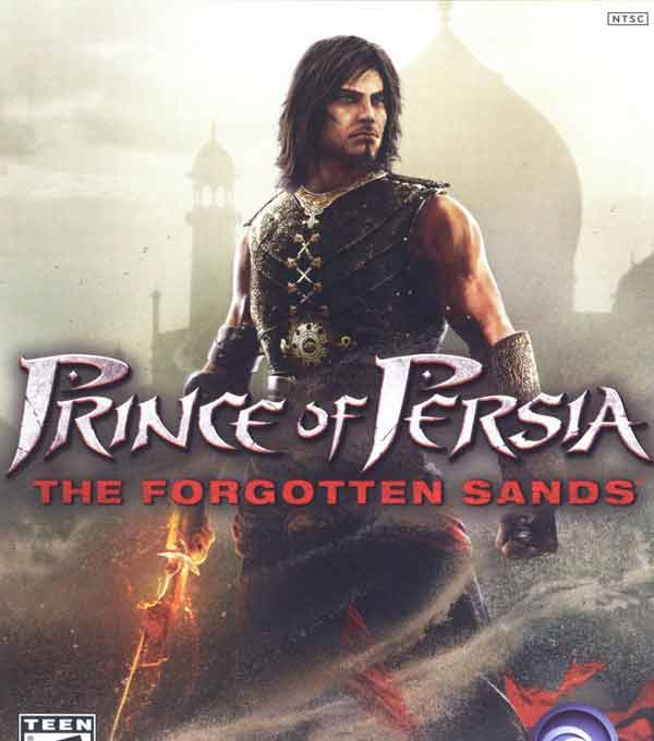 Prince of Persia The Forgotten Sands Box Art