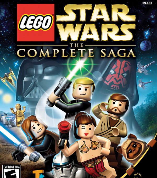 LEGO Star Wars: The Complete Saga Box Art