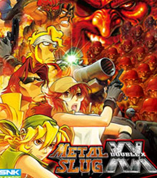 Metal Slug Double X Box Art