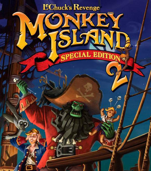 The Secret of Monkey Island 2: Special Edition Box Art