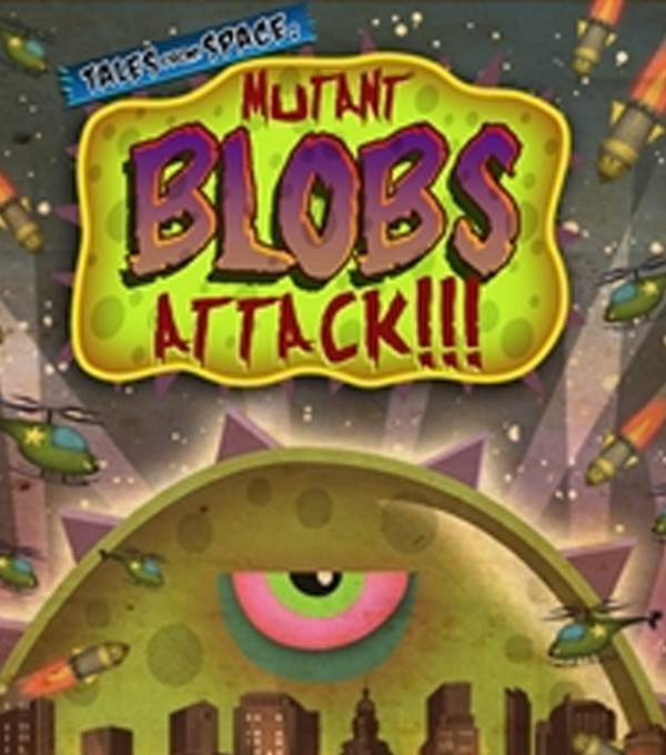 Mutant Blobs Attack Box Art