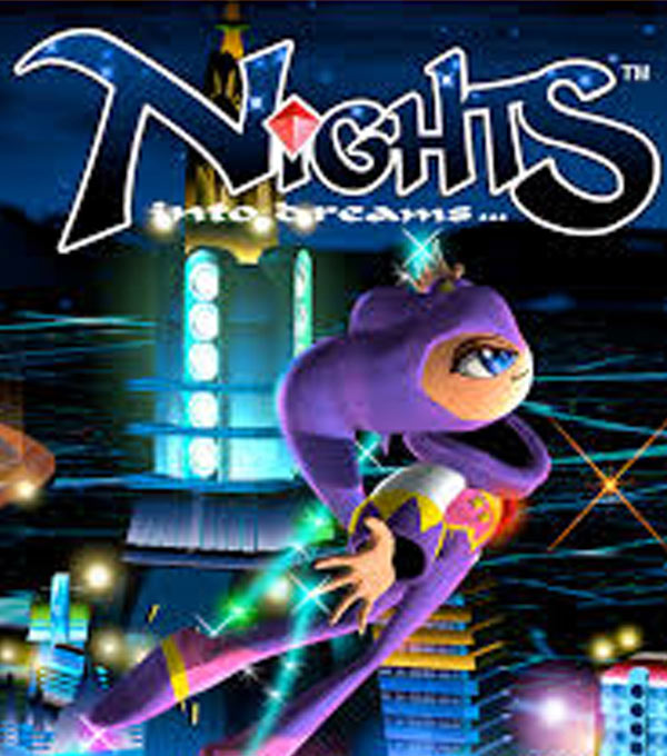 Nights Into Dreams Box Art