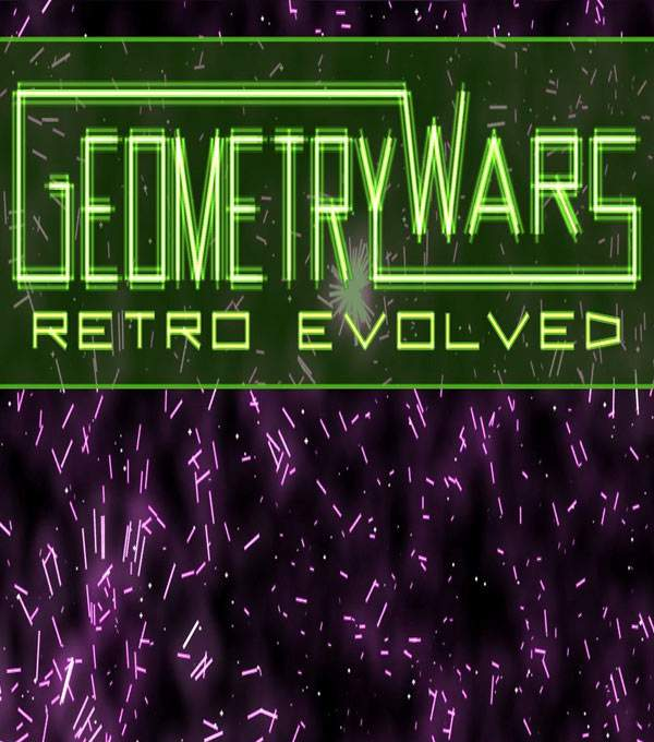 Geometry Wars: Retro Evolved Box Art