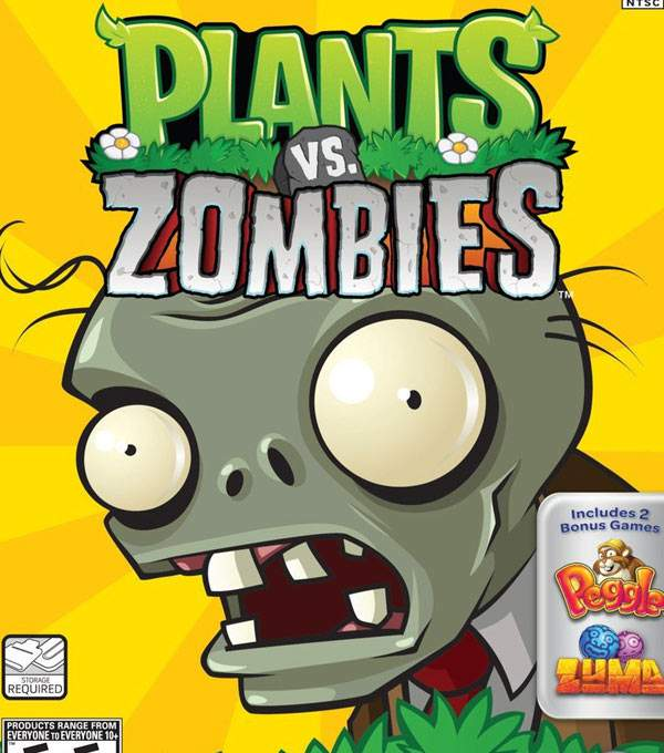 Plants vs Zombies Box Art