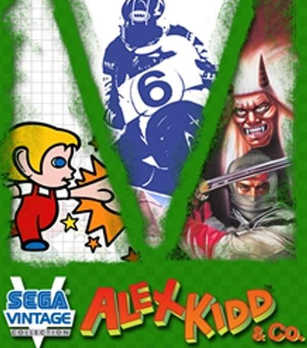Alex Kidd & Co Box Art