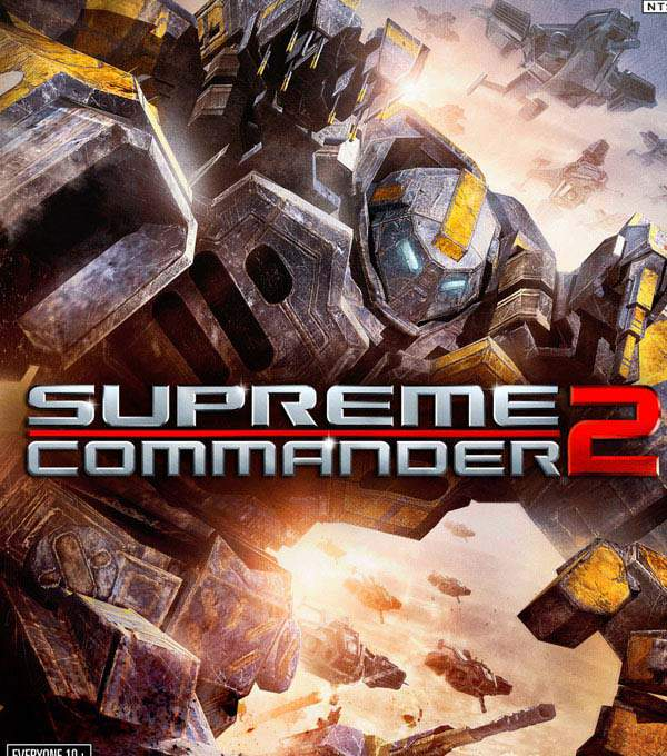 Supreme Commander 2 Box Art