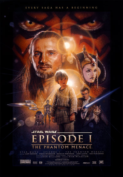 Star Wars Episode I: The Phatom Menace Poster (1999)