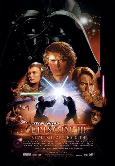Star Wars Episode III: Revenge of the Sith Poster (2005)