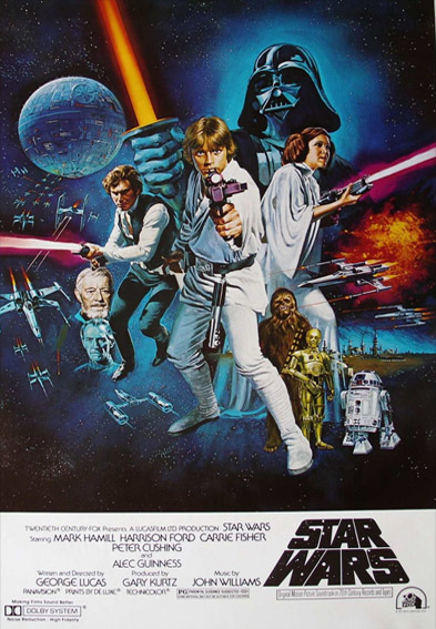 Star Wars Episode IV: A New Hope Poster (1977)