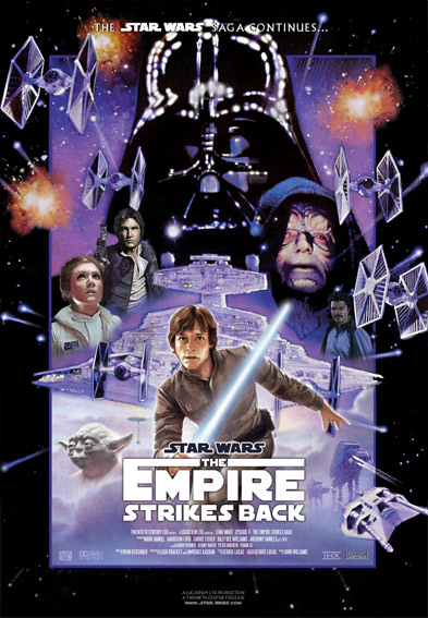 Star Wars Episode V: The Empire Strikes Back Poster (1980)