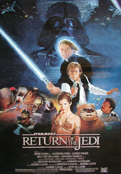 Star Wars Episode VI: Return of the Jedi Poster (1983)