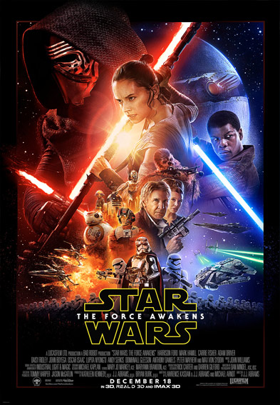 Star Wars Episode VII: The Force Awakens Poster (2015)