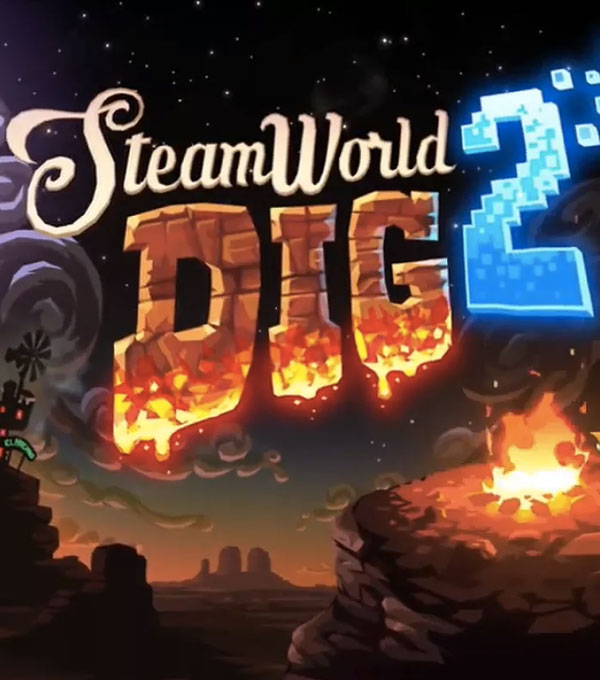 SteamWorld Dig 2 Box Art