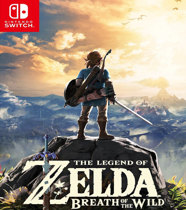 The Legend of Zelda: Breath of the Wild Switch Box Art