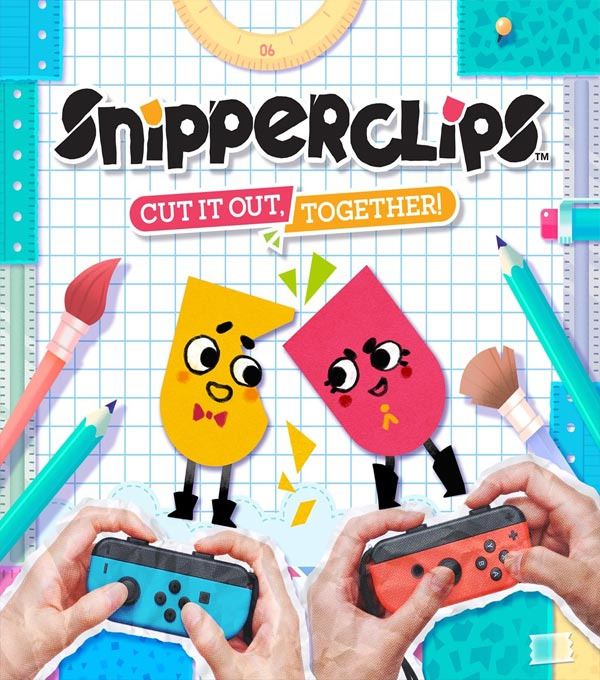 Snipperclips Box Art