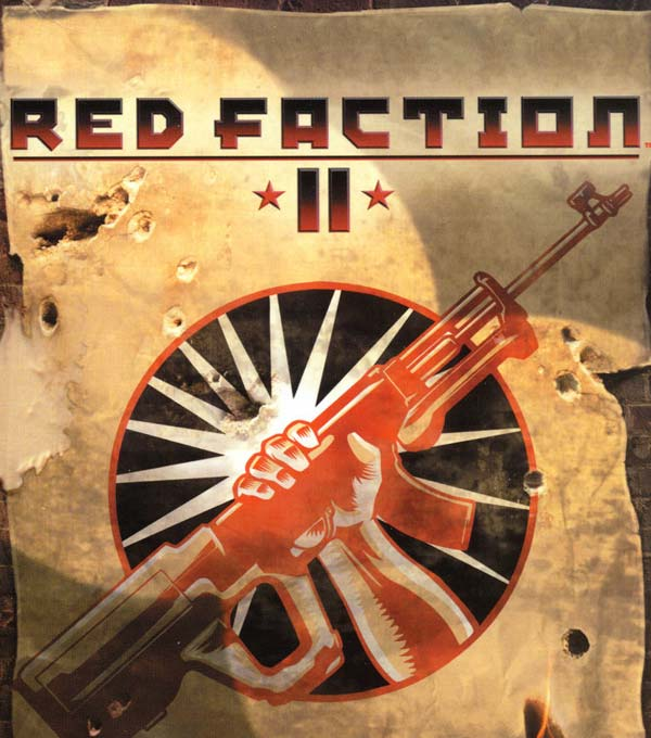 Red Faction 2 Box Art