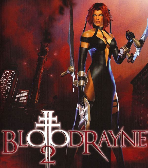 BloodyRayne 2 Box Art