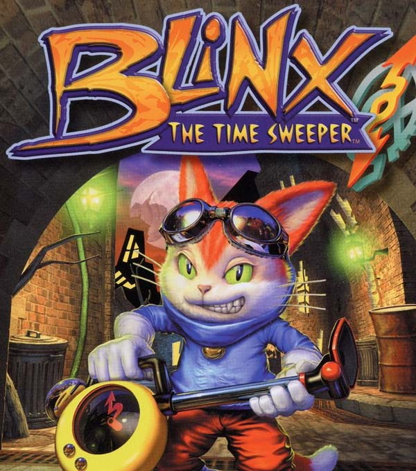 Blinx: The Time Sweeper Box Art