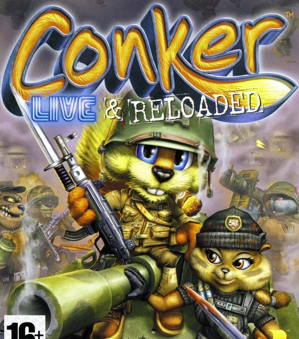 Conker: Live & Reloaded Box Art