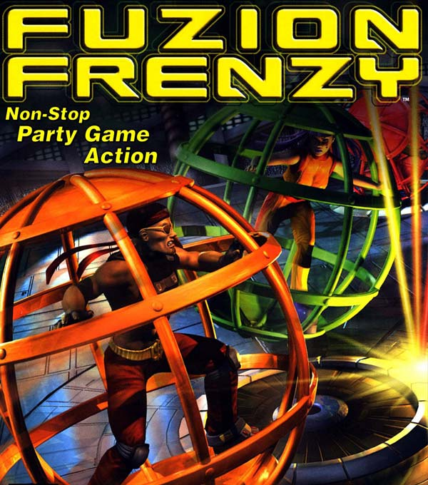 Fusion Frenzy Box Art