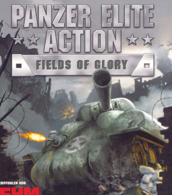 Panzer Elite Action: Fields of Glory Box Art