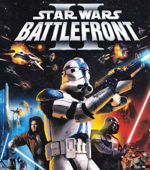 Star Wars Battlefront II Box Art