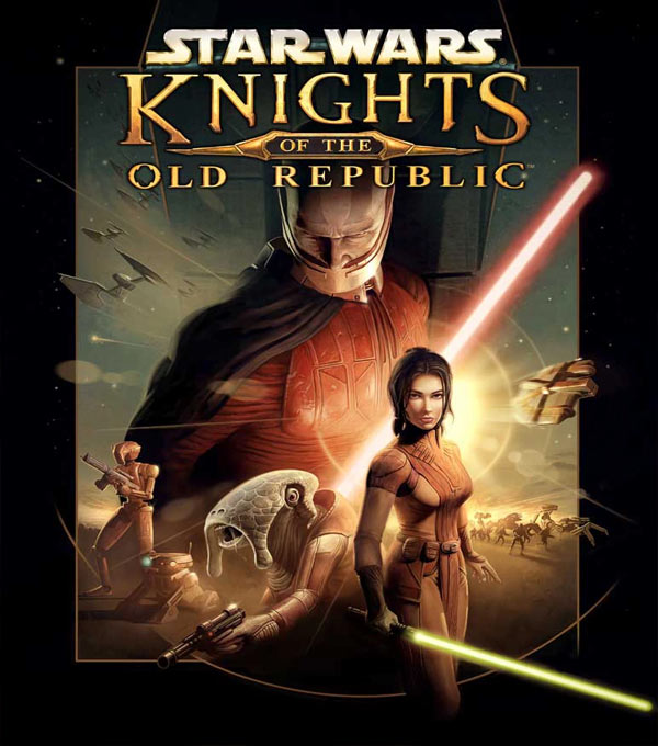 Star Wars: Knight of the Old Republic Box Art