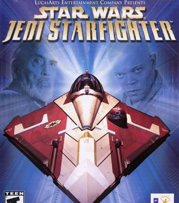 Star Wars Jedi Starfighter Box Art