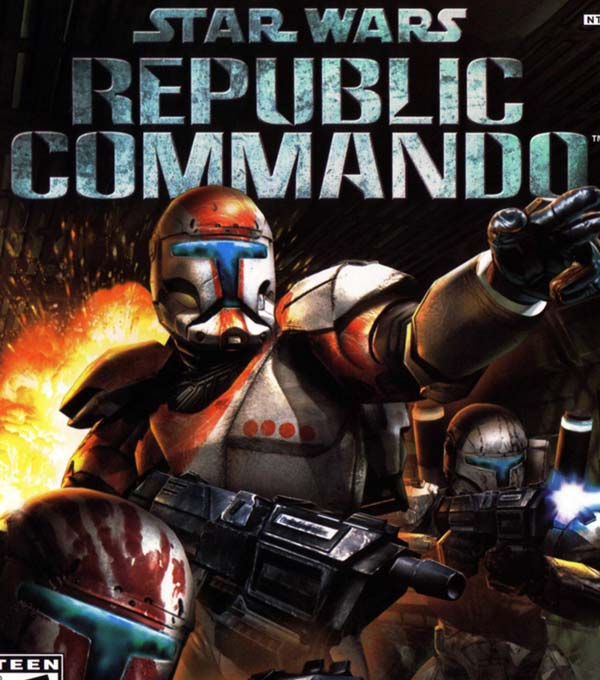 Star Wars Republic Commando Box Art