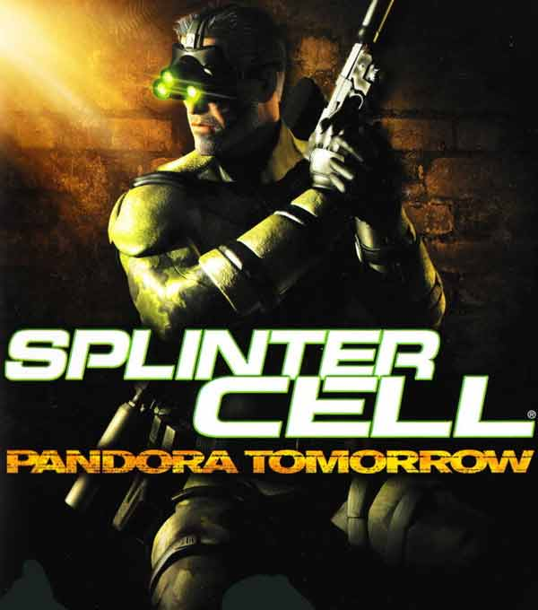 Tom Clancy's Splinter Cell Pandora Tomorrow Box Art