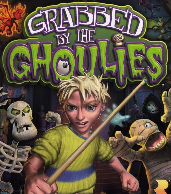 Grabbed by the Ghoulies Box Art