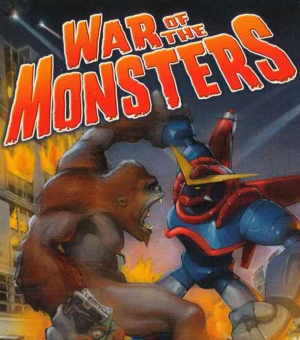 War of the Monsters Box Art
