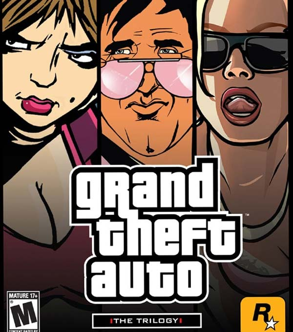 Grand Theft Auto: The Trilogy Box Art