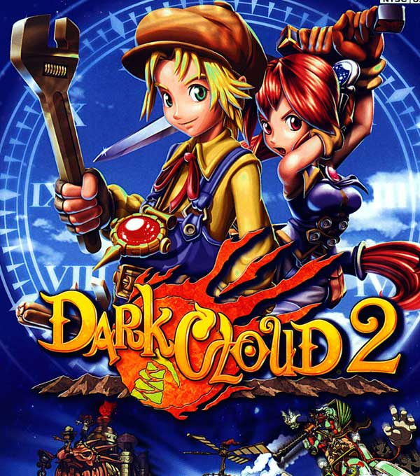 Dark Cloud 2 Box Art