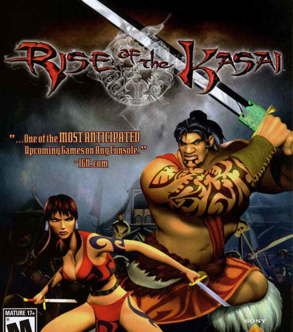 Rise of the Kasai Box Art