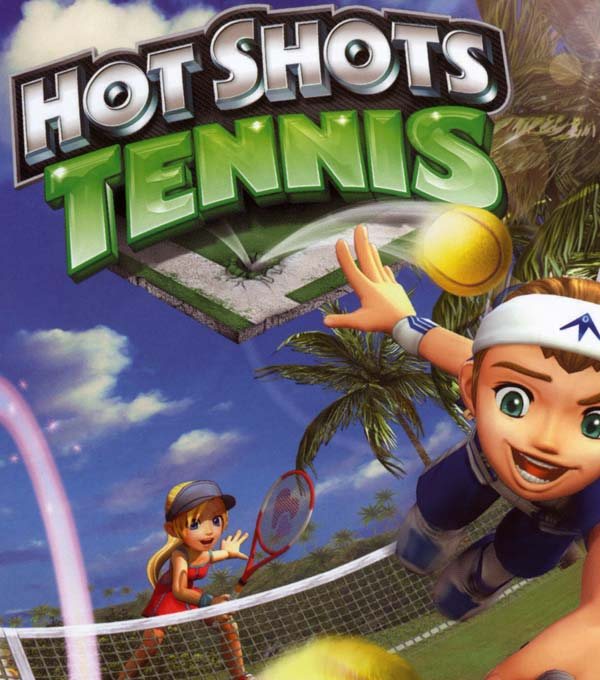 Hot Shots Tennis Box Art