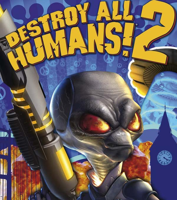 Destroy All Humans! 2 Box Art