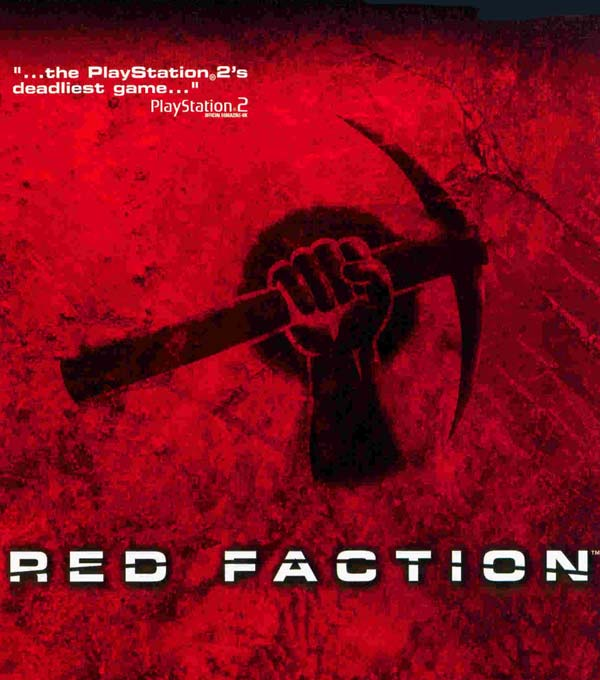 Red Faction Box Art