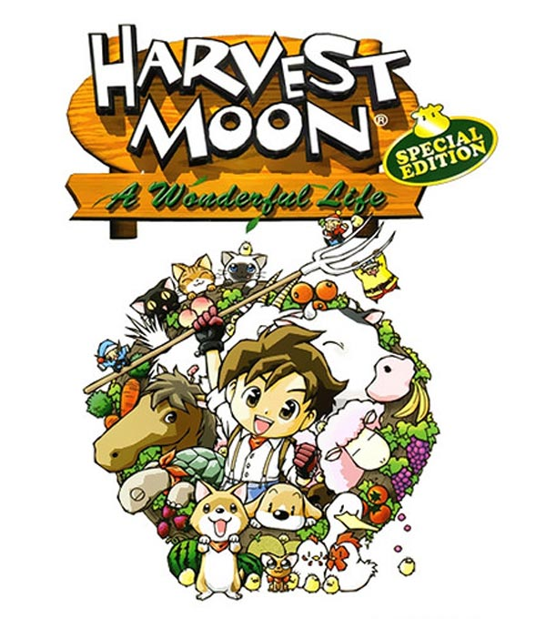 Harvest Moon: A Wonderful Life Box Art