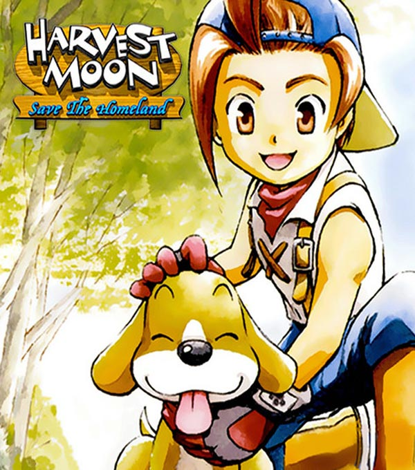 Harvest Moon: Save the Homeland Box Art