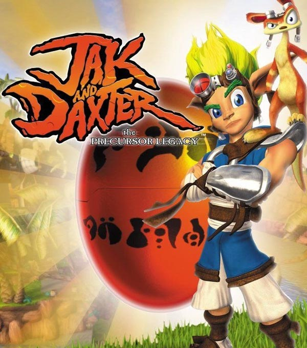 Jak and Daxter: The Precursor Legacy Box Art