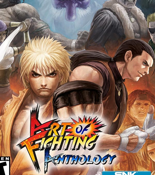 Art of Fighting Anthology Box Art