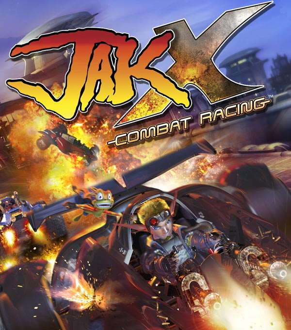 Jak X: Combat Racing Box Art